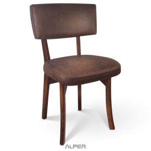 صندلی چوبی ناهار خوری رستورانی ANS-104WT