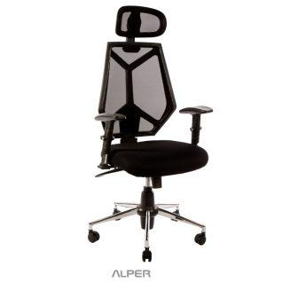 صندلی اداری گردان کارمندی APD-1902iT