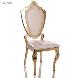 صندلی ناهارخوری هتلی - صندلی تالار فلزی - صندلی تالاری - صندلی تالار - صندلی رستوران - صندلی رستورانی هتلی