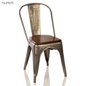 صندلی چوب و فلز DRK-101iW