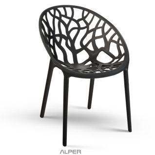 صندلی کافی شاپ شاخ و برگی NGN-101P