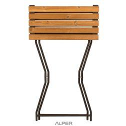 میز تاشو صفحه چوب ترموود NHL-500XiW