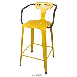 coffeeshop chair - صندلی فلزی دسته دار - NHL-101i - صندلی یوفو - صندلی یوفو دسته دار و پشتی دار - ندلی ناهارخوری - صندلی کافی شاپی - صندلی فلزی - صندلی دسته دار - صندلی فلزی دسته دار - صندلی آشپزخانه - kitchen chair - counter stool - open chair - coffeeshop chair -صندلی یوفو دسته دار و پشتی دار NHL-101i