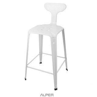 چهارپایه - چهارپایه فلزی - صندلی - صندلی بار - صندلی کافی شاپی - صندلی فضای باز - صندلی آشپزخانه - صندلی اپن - صندلی پیشخوان - صندلی فلزی - صندلی بار فلزی یوفو - صندلی بار فلزی - metal stool bar - stool bar
