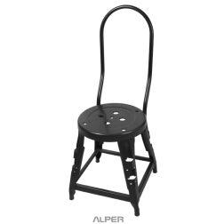 چهارپایه - چهارپایه فلزی - چهارپایه فلزی حائل دار