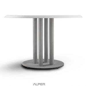 میز پایه فلزی گرد PND-521iW