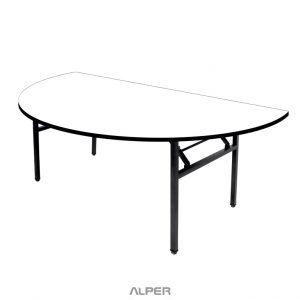 میز پایه تاشو صفحه نیم دایره PND-510XiW
