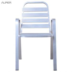صندلی آلمینیومی فضای باز آرامش PYA-110A