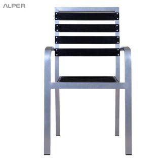صندلی آلومینیومی روکش دار آرامش PYA-107A