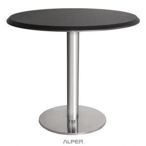میز گرد پایه چدنی صفحه وکیوم PND-501CW