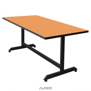 میز پایه فلزی مستطیل صفحه وکیوم PND-528iW