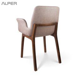صندلی دسته دار - صندلی چوبی - صندلی چوبی دسته دار - صندلی آلپر - آلپر - صندلی تالار - صندلی تالاری - صندلی آشپزخانه - صندلی هتلی - میز و صندلی ناهار خوری