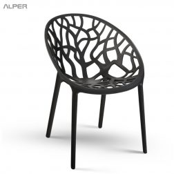 صندلی شاخ و برگی - صندلی فضای باز - صندلی باغی - صندلی - صندلی آلپر - صندلی کافی شاپی