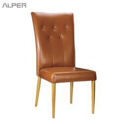 صندلی هتل - صندلی - صندلی تالار - صندلی آشپزخانه - صندلی هتلی - صندلی تالاری - صندلی قهوه ای - صندلی زیبا - صندلی فلزی - میز و صندلی ناهار خوری - Alper
