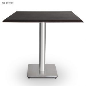 میز مربع پایه چدنی صفحه وکیوم صبا PND-502CW
