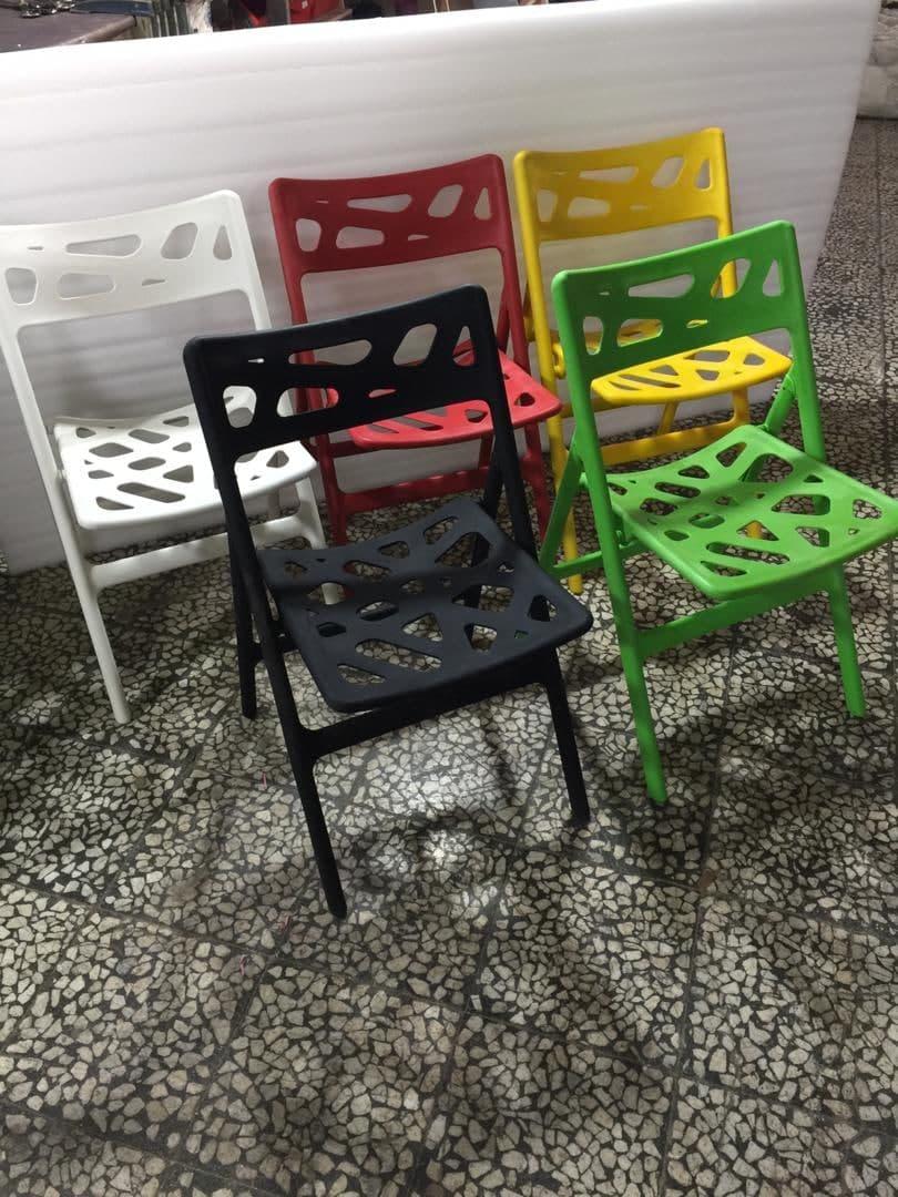 صندلی تاشو پلاستیکی - صندلی پلاستیکی تاشو - صندلی تاشو - folding chair