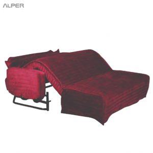 مبلمان تختخواب شو نگین SHL-1004-iWT