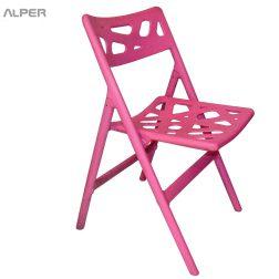 صندلی تاشو پلاستیکی شیده TIS-101PX