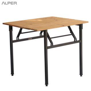میز تاشو ترمووود - folding table - foldable table - folding desk - foldable desk - میز ترمووود - میز تاشو - میزتاشو -میز ترمووود پاندا - PND-204xiW