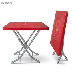میز فضای باز - میز تاشو فضای باز شاهرخ NGN-500XiP