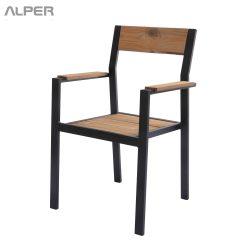 صندلی - صندلی فضای باز - صندلی فضای باز ترمووود -صندلی ترمووود پاندا PND-120iW