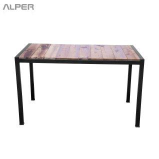 thermowood table - میز ترمووود - میز چوبی - میزهای چوبی -PND-208iW