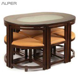میز و صندلی کم جا DNZ-000W