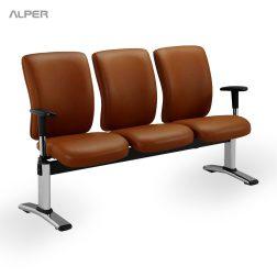 صندلی انتظار فرودگاهی - صندلی لابی - صندلی رست - صندلی استراحت - مبلمان آلپر - مبلمان اداری آلپر - مبلمان آلپر - مبلمان الپر - Alper