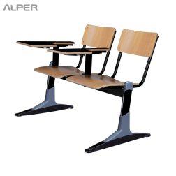 صندلی دانشجویی دونفره - صندلی دانشجویی دو نفره - SHD-1908iW - صندلی - صندلی - دانشجویی - آلپر - فروشگاه آلپر - فروشگاه اینترنتی آلپر -آلپرصندلی دانشجویی دو نفره بدون سبد SHD-113iW