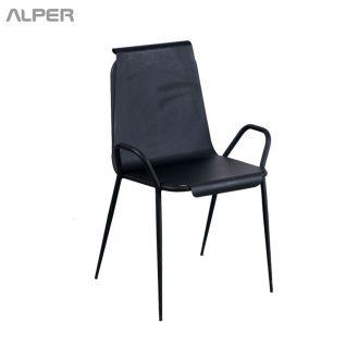 صندلی فلزی - صندلی فلزی ساده - صندلی - صندلی آلپر - آلپر - Alper - صندلی ناهارخوری - صندلی نهار خوری - metal chair - dining chair - outdoor chair - صندلی فضای باز