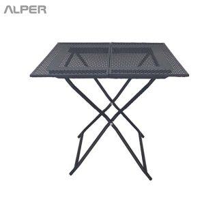 میز تاشو - میز صفحه پانچ - میز تاشو صفحه پانچ - میز ناهارخوری - میز ناهار خوری - میز فضای باز