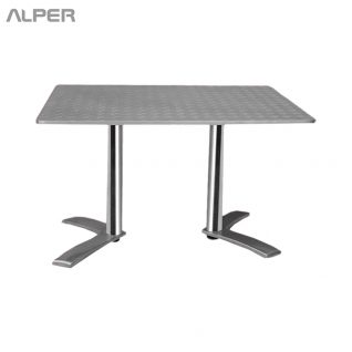 میز مستطیل آلومینیومی - میز آلومینیومی - میز مستطیل - میز مربع آلومینیومی - میز آلومینیومی گرد - میز آلومینیومی، میز آلمینیومی، میز آلپر، آلپر،Alper