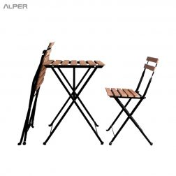مبلمان باغی - میز و صندلی فضای باز - خرید میز و صندلی تاشو - یزوصندلی تاشو - میز تاشو - میزتاشو - صندلی تاشو - میز و صندلی تاشو - صندلی تاشو آلپر - صندلی تاشو الپر - میز و صندلی آلپر