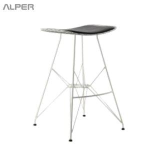 صندلی بار مفتولی آهنی - صندلی بار - صندلی بار اپن - صندلی اپن - صندلی کافی شاپی - صندلی اپن فلزی - صندلی بار اپن - صندلی آشپزخانه - صندلی - صندلی آلپر - آلپر - Alper