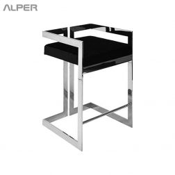 صندلی کافی شاپی - صندلی فلزی استیل - صندلی فلزی - صندلی استیل - صندلی هتلی - صندلی تالاری - صندلی ناهارخوری - صندلی آشپزخانه - صندلی آلپر - صندلی - Alper - dining chair - metal dining chair - still chair - coffeeshop chair