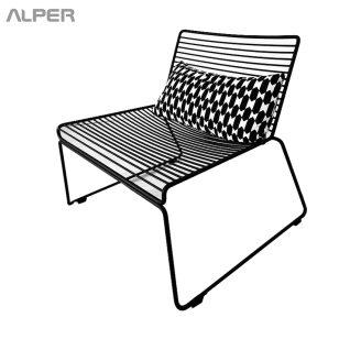 صندلی لوگ - صندلی - صندلی مفتولی - صندلی کافی شاپی - صندلی ناهار خوری - صندلی آشپزخانه آلپر - صندلی آشپزخانه - صندلی ناهار خوری فضای باز - outdoor chair - coffeeshop chair - kitchen chair - صندلی فضای باز