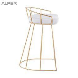صندلی اپن مفتولی - صندلی اپن - صندلی اپنی - صندلی آشپزخانه - صندلی اشپزخانه - صندلی - صندلی آلپر - صندلی الپر - صندلی اپن - صندلی فلزی - صندلی ناهارخوری - آلپر - Alper
