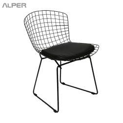 صندلی کافی شاپی - صندلی برتویا - صندلی کافی شاپی برتویا - صندلی مفتولی آهنی - صندلی مفتولی - صندلی آهنی - صندلی فلزی - صندلی آشپزخانه - صندلی ناهارخوری - صندلی ناهار خوری - صندلی - آلپر - صندلی آلپر - Alper - dining chair - outdoor chair
