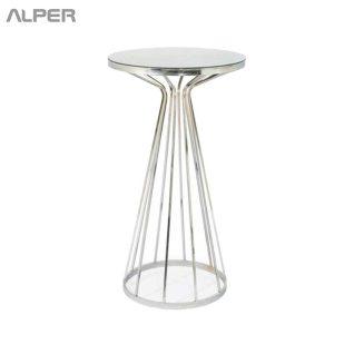 میز پایه بلند - میز تالاری - میز تالار - میز رستورانی - میز رستوران