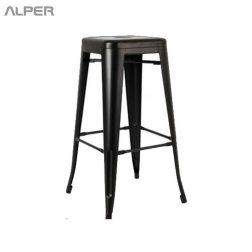 چهارپایه تولیکس - چهارپایه فلزی - چهارپایه - چهار پایه - چهار پایه فلزی - metal stool - Alper - آلپر - الپر