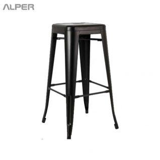 چهارپایه فلزی - صندلی پیشخوان - صندلی بار بدون پشتی - صندلی بار -چهارپایه فلزی تولیکس - تولیکس - چهارپایه فلزی - چهارپایه - چهار پایه - چهار پایه فلزی - metal stool - Alper - چهارپایه کافی شاپی - چهارپایه کافی شاپ