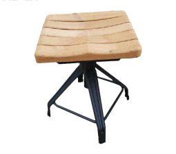 چهارپایه یوفو با نشیمن چوبی – NHL-1706iW