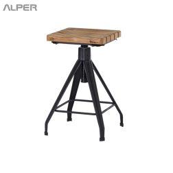 چهارپایه - چهار پایه - چهارپایه یوفو - چهار پایه یوفو - صندلی فلزی - صندلی - خرید اینترنتی میز و صندلی - آلپر - Alper - chair - coffeeshop chair - outdoor chair