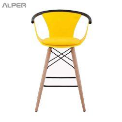 صندلی رستورانی - صندلی رستورانی پایه بلند - صندلی کافی شاپی - صندلی ناهارخوری - صندلی غذاخوری - صندلی آشپزخانه - صندلی اپن - صندلی کانتری - صندلی کافی شاپ - مبلمان و میز و صندلی آلپر - Alper - coffeeshop chair - restaurant chair