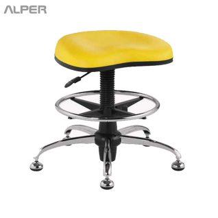 صندلی اداری - صندلی گردان - صندلی آزمایشگاهی - صندلی مناسب آزمایشگاه - صندلی بدون پشتی - صندلی جک دار - chair