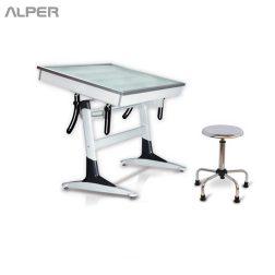 میز نور مهندسی - میز نور - میز مهندسی