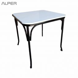 میز غذاخوری، میز بنکوئیت، میز رستوران، میز تونت، میز فست فود، میز تاشو، میز ناهارخوری، آلپر ؛ میز، صندلی و مبلمان هتل، تالار، رستوران، کافی شاپ، باغی و فضای باز