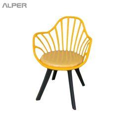 صندلی پلاستیکی - صندلی چندمنظوره - صندلی کافی شاپی - صندلی راحت