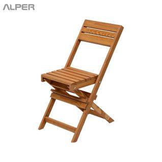 صندلی - صندلی چوبی - صندلی چوبی تاشو - صندلی مسافرتی - صندلی تاشو