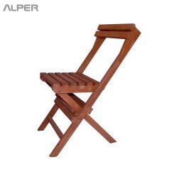صندلی - صندلی چوبی - صندلی چوبی تاشو - صندلی مسافرتی - صندلی تاشو - نوژن - صندلی تاشو مدل نوژن